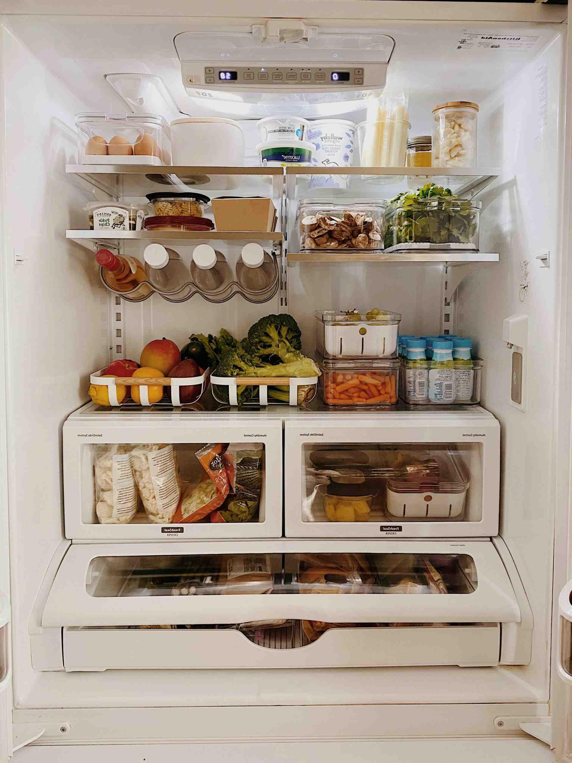 Comment ranger son frigo Marie Kondo ?