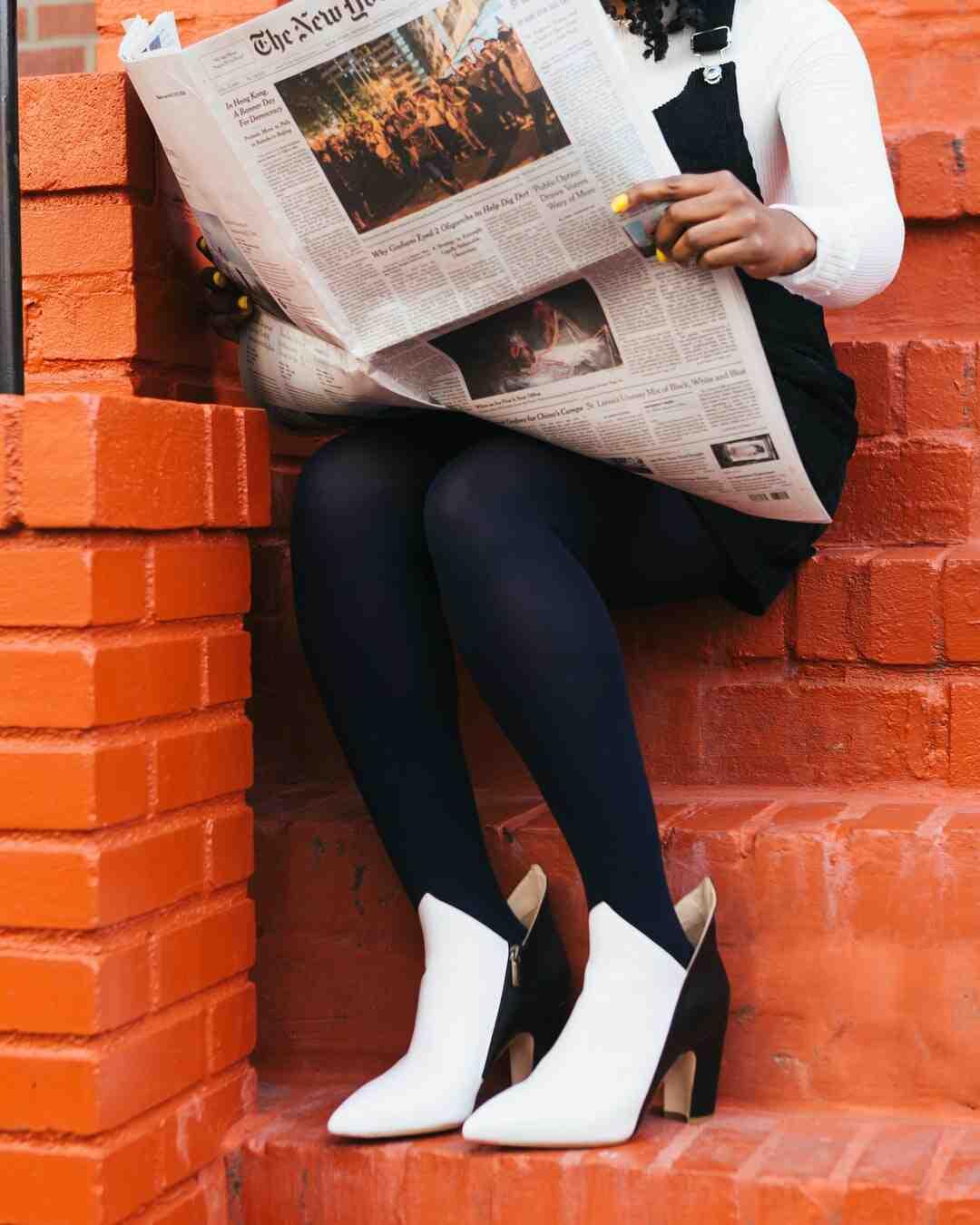 Où jeter le papier journal ?