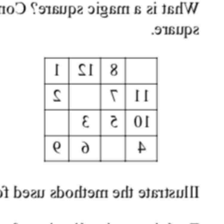 Pourquoi le carré magique de Kaldor est magique ?