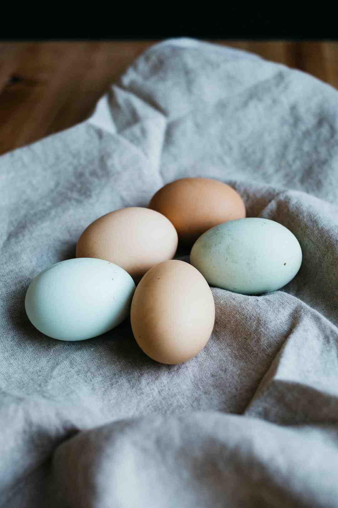 Quelle est la calorie d'un œuf dur ?