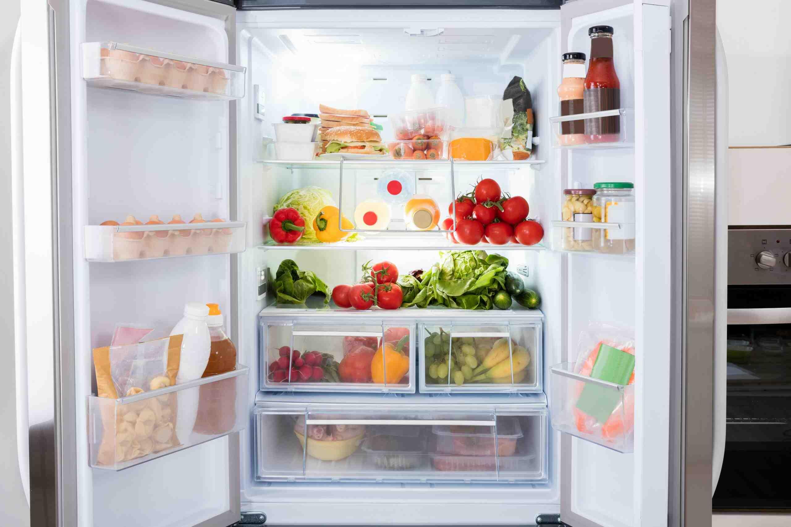 Quelle est la partie la moins froide dans un frigo ?